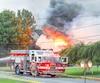 La maison de Marcel Raymond a été rasée par un incendie en 2014, pendant qu'il était toujours hospitalisé après un attentat.