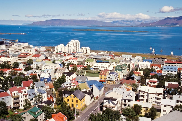 La capitale colorée, Reykjavik.