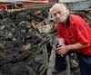 Jean-Pierre Voyer souligne qu'il a perdu tous ses meubles dans l'incendie.