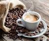 Espresso café grain