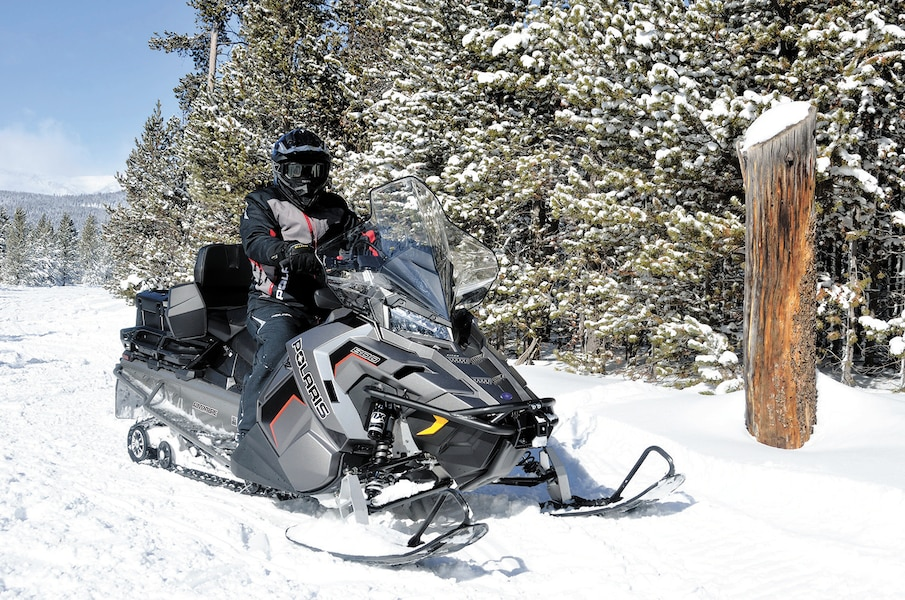 polaris  place au moteur 850 patriot