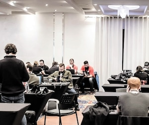 Le concours informatique Hackfest de Québec clôturait sa 10e édition, samedi.