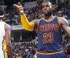 LeBron James des Cavaliers de Cleveland.