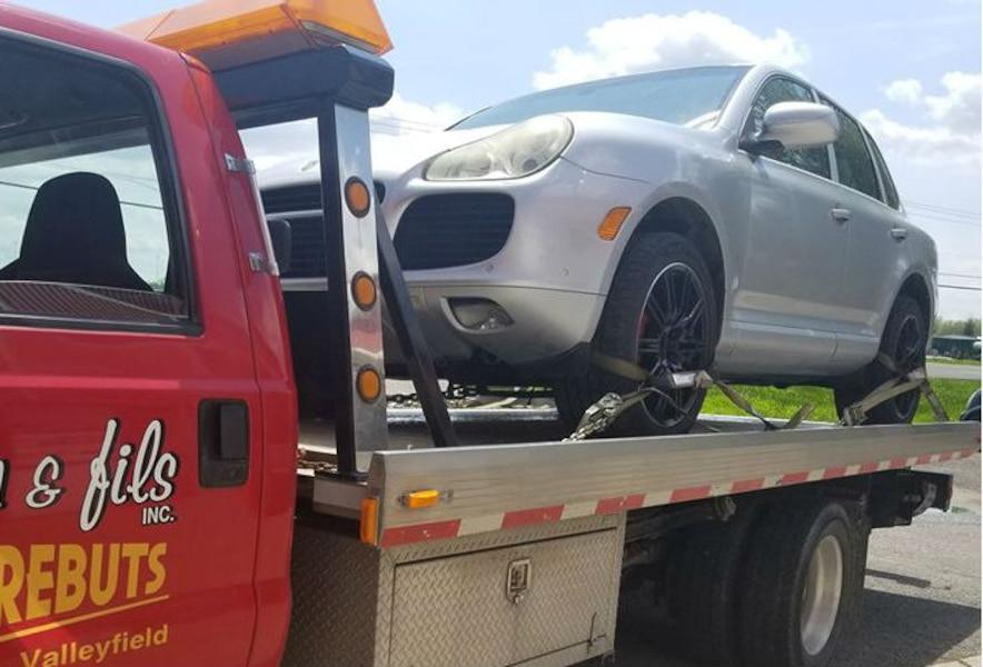 Tanné Ce Québécois Envoie Sa Porsche Cayenne à La Scrap Jdm
