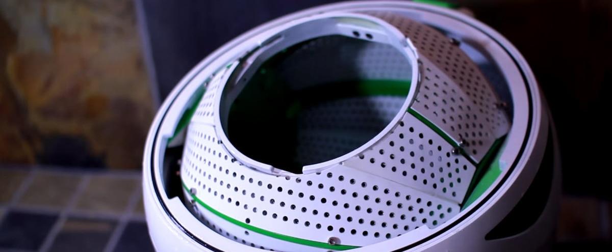 Une entreprise canadienne invente une laveuse portable qui for Piscine portative