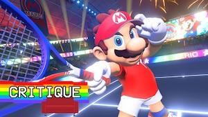 Mario Tennis Aces: Set, jeu et match pour Nintendo