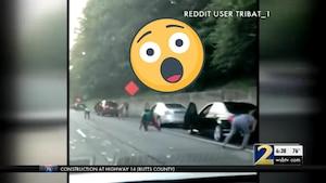 Il pleut de l'argent sur l'autoroute!