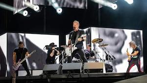 Metallica : «plus grand groupe métal au monde»