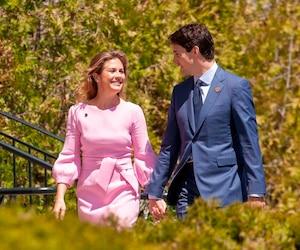 Sophie Grégoire-Trudeau et son mari Justin Trudeau