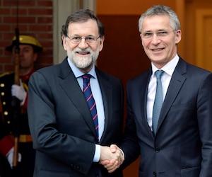 Mariano Rajoy et Jens Stoltenberg