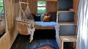Une micro-maison boho-chic à louer pour 60$ / nuit