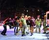 Un homme a subi des fractures aux jambes lorsqu'il a été heurté par un conducteur qui s'est par la suite enfui, jeudi soir, rue Évangéline, à Québec.