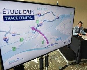 Jeudi, le ministre des Transports, François Bonnardel, a indiqué que le troisième lien prendra la forme d'un tunnel à l'est et qu'un nouveau pont sera bel et bien construit à l'île d'Orléans.