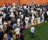 Les musulmans se sont rassemblés pour l'Aïb par centaines dans ce complexe de la Rive-Sud de Québec.