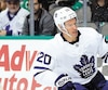 Dominic Moore aurait aimé jouer davantage cette saison. Dans les séries, il n'a endossé son uniforme que pour deux matchs des Maple Leafs.