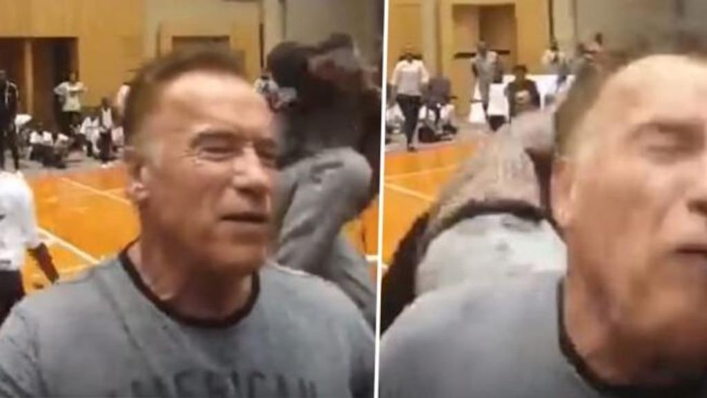 Arnold Schwarzenegger attaqué sauvagement par un inconnu