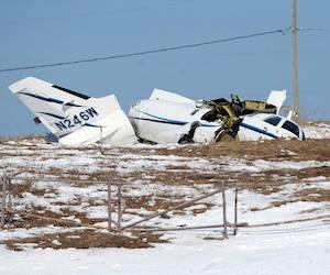 Écrasement d'avion - aéroport des Îles-de-la-Madeleine