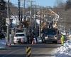 Les travaux effectués par Hydro-Québec à Gatineau n'étaient pas urgents, selon la société d'État, et auraient pu être reportés.