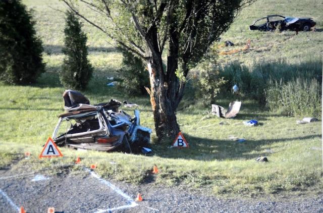 Sébastien Casavant a pris le chemin de la prison pour la mort de son cousin Stéfan Casavant et de son meilleur ami Danny Richardson. Lors de l'accident du 12 juin 2009, la voiture s'est coupée en deux sous la force de l'impact.