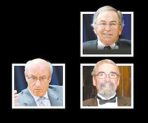 Les organisateurs libéraux Franco Fava, William Bartlett et Charles Rondeau font partie des suspects de l'UPAC. En mortaise, un topo rédigé par une enquêtrice de l'UPAC énonce clairement que l'équipe s'orientait pour faire des arrestations en avril 2016.
