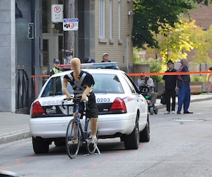 Une reconstitution de l'accident avait été réalisée par la Sûreté du Québec dans le quartier St-Roch, en septembre 2014.