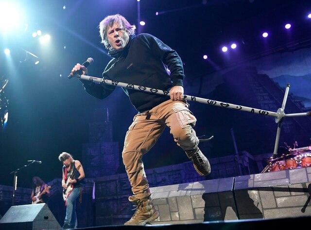 Iron Maiden était de passage au Centre Vidéotron dans le cadre de sa tournée The Book of Souls.