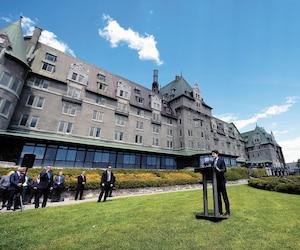 Justin Trudeau avait promis lors de l'annonce de la tenue du G7 dans Charlevoix que l'héritage laissé par l'événement se verrait «pendant des décennies». Un an plus tard, force est d'admettre que les gens de la région ont tourné la page rapidement. En mortaise, le maire de La Malbaie, Michel Couturier, qui est d'avis que certains ont pu avoir des attentes trop élevées pour l'après-G7.
