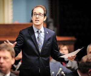 Alexandre Leduc. Député de Québec solidaire