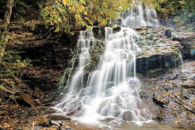 De nombreuses cascades peuvent être admirées dans les Montagnes blanches