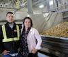 Couple dans la vie comme en affaires, Stéphan Dolbec et Josée Petitclerc, âgés respectivement de 45 et 43 ans, dirigent un empire de la patate.