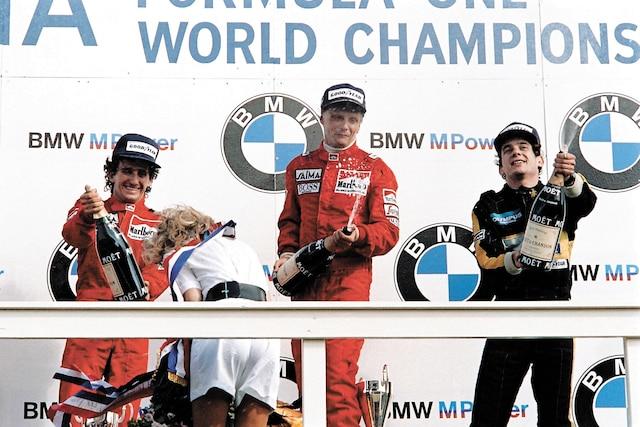 L'Autrichien avait remporté la victoire au Grand Prix des Pays-Bas, le 25 août 1985. Il avait devancé deux autres légendes de la Formule 1, Alain Prost et Ayrton Senna.