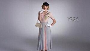 Image principale de l'article Revisitez 100 ans de mode dans une courte vidéo