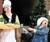 Le baryton Pierre Rancourt et la soprano Frédérique Drolet personnifient les apprentis Spoutnik et Farandole dans lespectacle jeunesse ZoOpéra qui a pour objectifd'initier les enfants à l'art lyrique et qui a été très apprécié par les «grands».