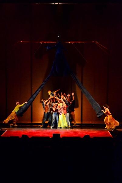 Les artisans du Cirque du Soleil ont offert des moments de grande beauté