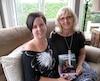 Catherine Binette et sa mère Carole Paiement.