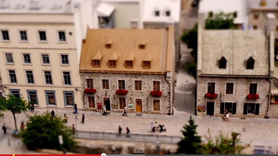 Québec en format miniature