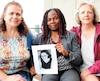 Dans l'ordre, Yolande Naggar, Lydie Lonméné et Danielle Noldus ont tenu à rendre hommage à leur défunte collègue et amie Bernadette Boulé, 51 ans, décédée le 26 août.