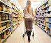 Bloc épicerie aliments alimentation