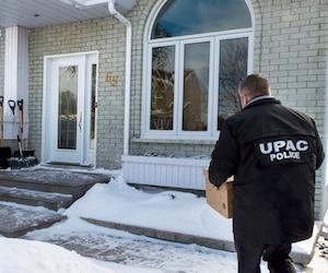 Hier, sa maison a été perquisitionnée par les enquêteurs de l'UPAC.
