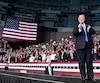 US President Donald Trump addresses rally in North Carolina, less than two weeks before midterm polls