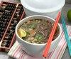 saveurs - jourdan - soupe asiatique à la coriandre 08
