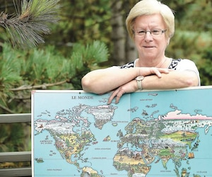 Colombe Lefebvre partira en croisière à deux reprises cet hiver: elle visitera la Nouvelle-Calédonie, Fidji, la Tasmanie, les îles Maurice, Israël et Venise.