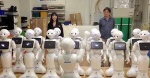 Une chorale de robots