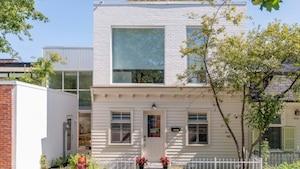 Une maison unique à vendre sur le Plateau
