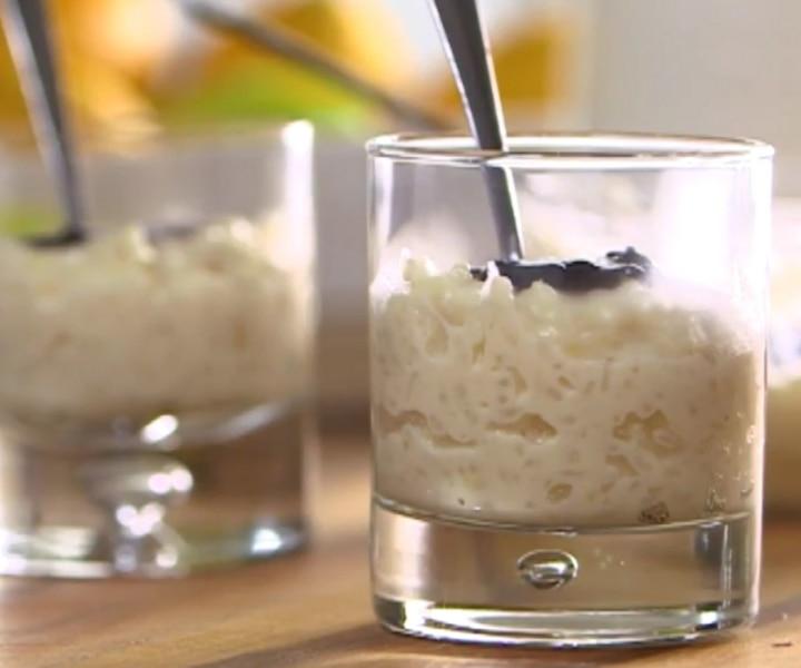 Riz au lait des îles
