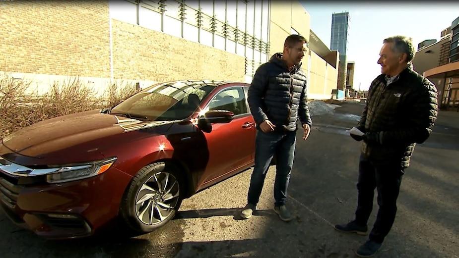 La nouvelle Honda Insight sous le radar