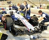 La Williams FW41 ne répond pas aux attentes depuis le début de la saison.