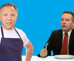 Que devrait cuisiner Legault pour Kenney?