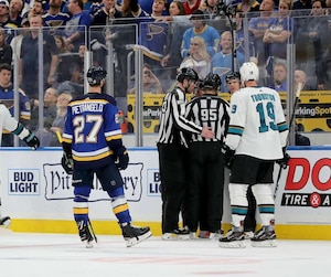 San Jose Sharks v St Louis Blues - Game Three