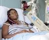 Marie-Édith Boileau est la seule patiente de l'hôpital du Sacré-Cœur à souffrir d'un lymphome anaplasique à cellule T, une rare forme de cancer des os, et la troisième au Québec, selon ce que les médecins lui ont dit.
